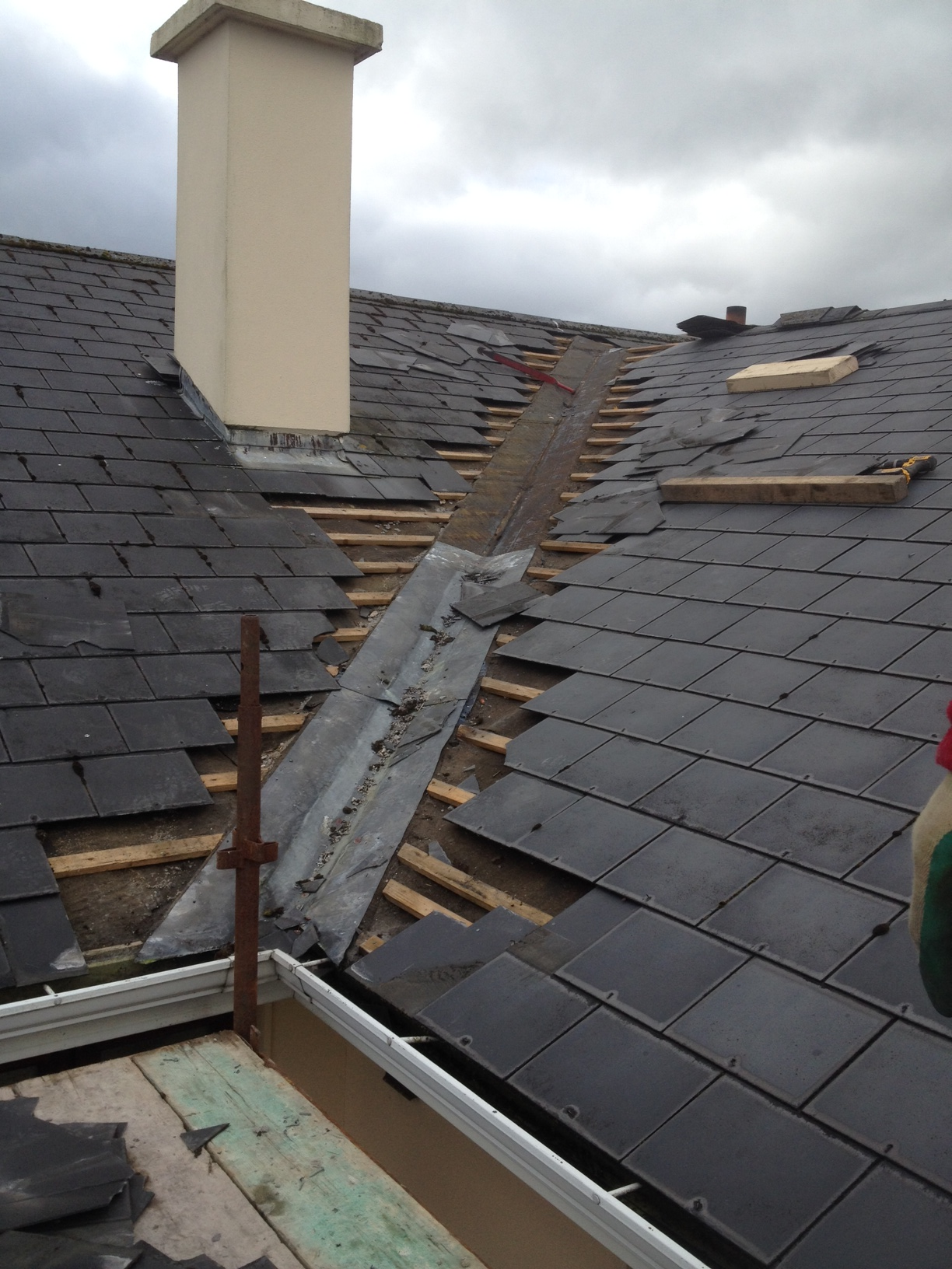 Roofing contractor cork kerry limerick for Roofing repair